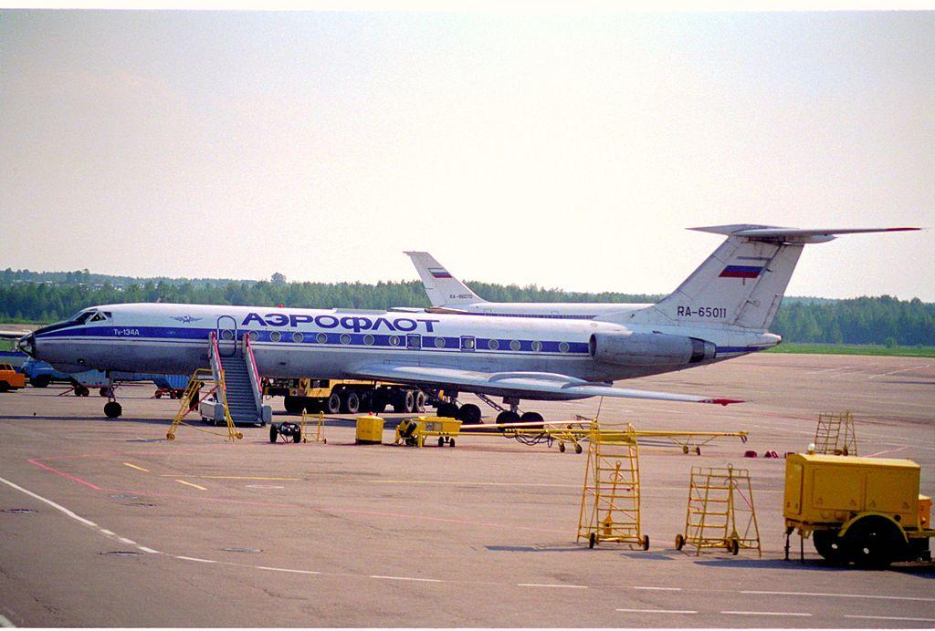 Ту-134 Авиакомпании Аэрофлот