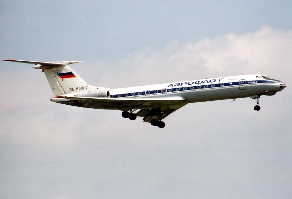 Ту-134А авиакомпании Аэрофлот