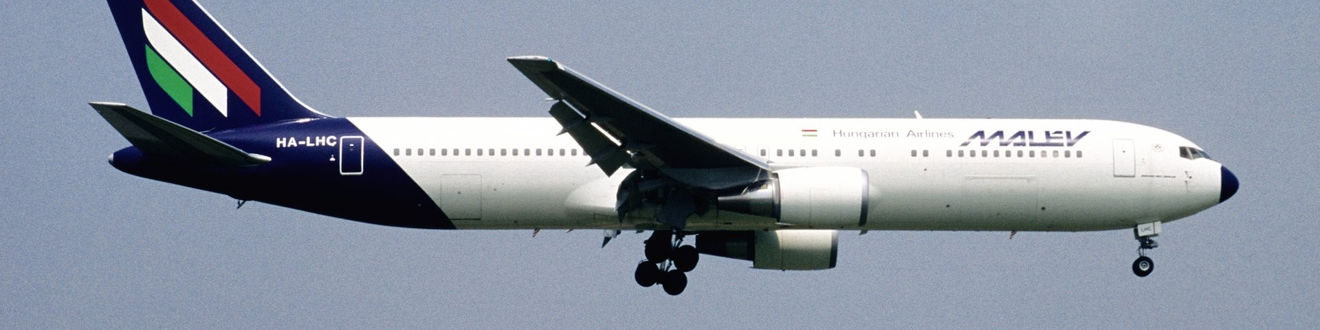 Boeing 767 Malev Hungarian Airlines