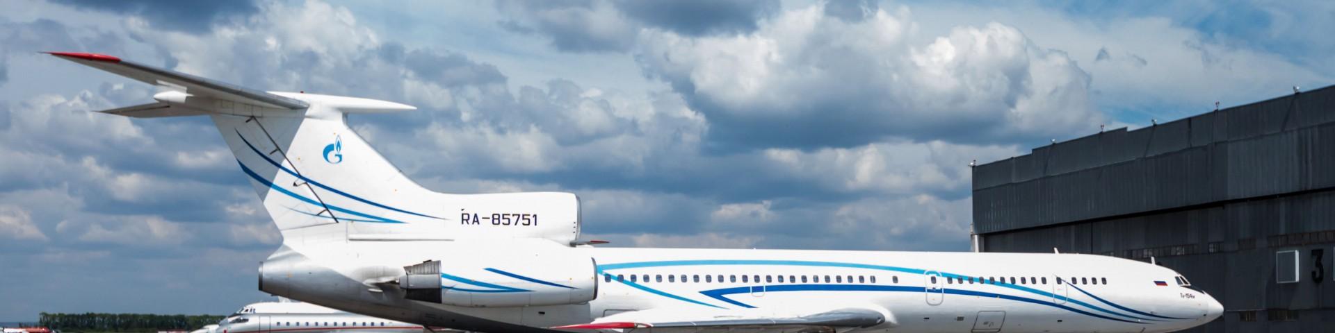 Ту-154 Газпромавиа