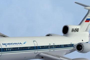 Ту-154 NordAvia Avsim