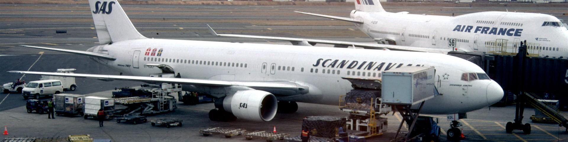 Boeing 767 Scandinavian Airlines