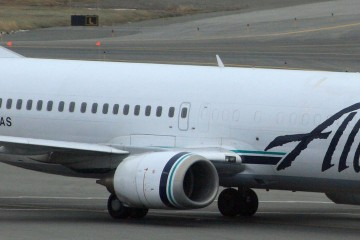 Boeing 737 Alaska Airlines