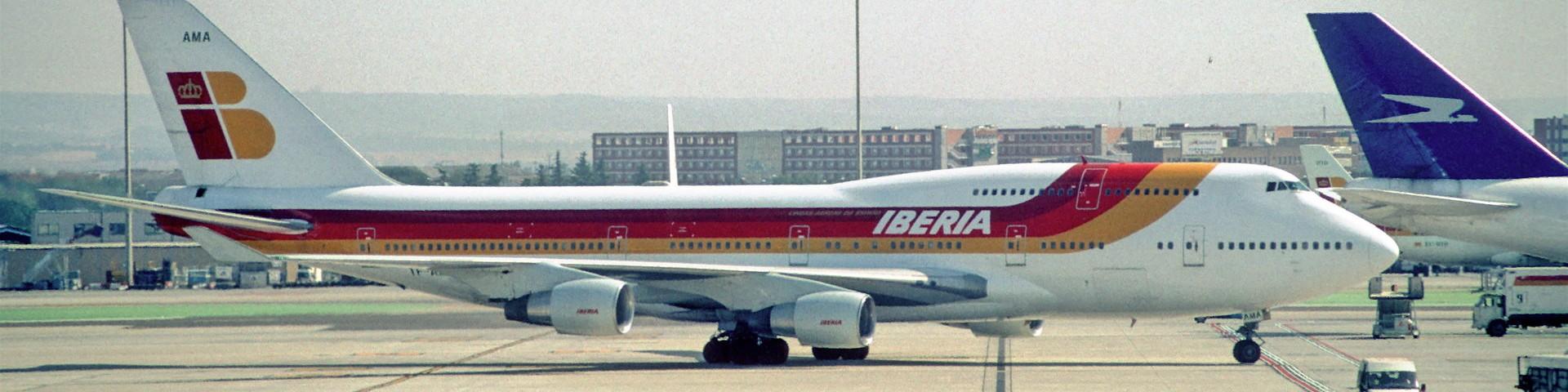 Boeing 747 Iberia