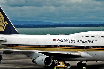 Boeing 747-400 Singapore Airlines