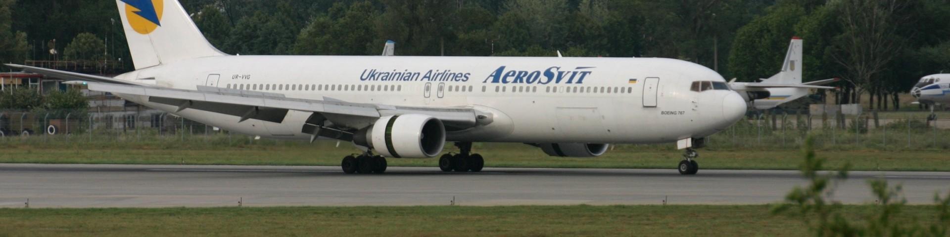 Boeing 767 Aerosvit Airlines