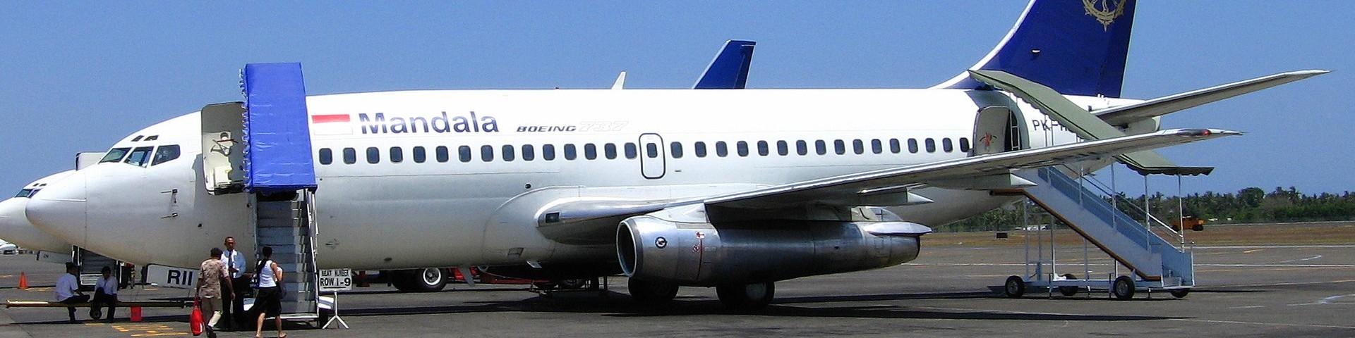Boeing 737 Mandala Airlines